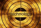 Technologie grunge cíle koncepce