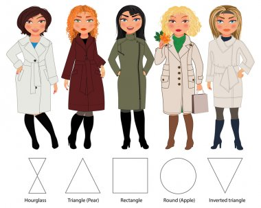 types of female figures