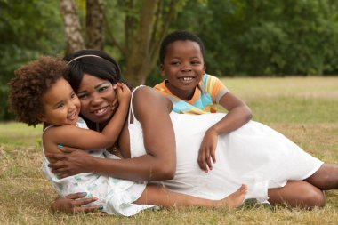 Mom and her dearest children