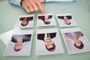 Businessman  Choosing Photograph