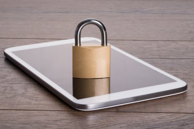 Tablet data privacy concept
