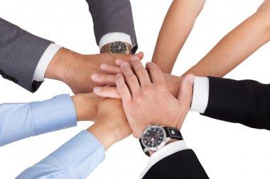 Businesspeople's Hands