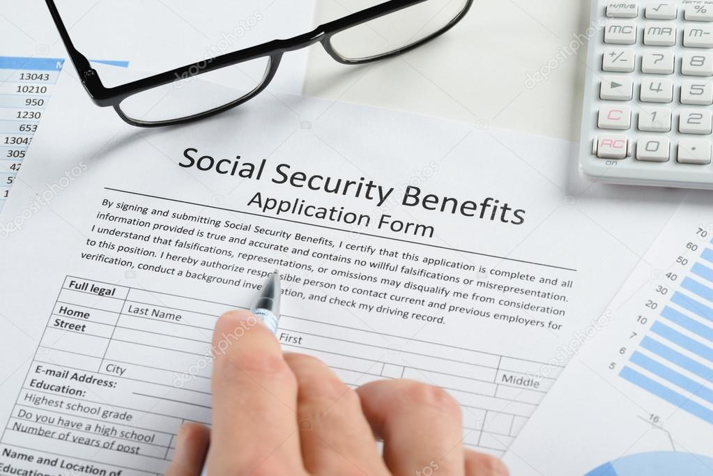 Hand Over Social Security Benefits Form
