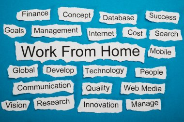 Work From Home Text