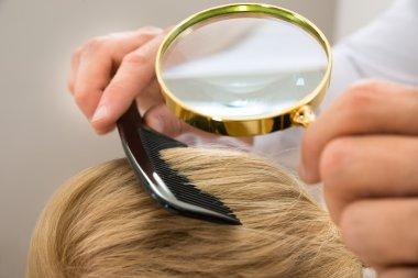 Dermatologist Looking Blonde Hair
