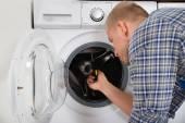 Fényképek Munkavállaló rögzítő mosógép