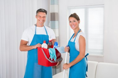 Cleaners With Cleaning Equipments