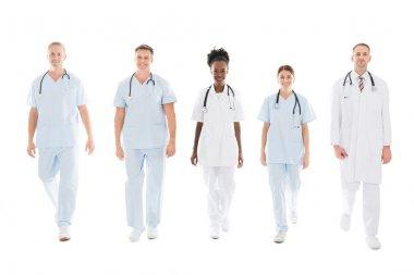 Confident Multiethnic Medical Team