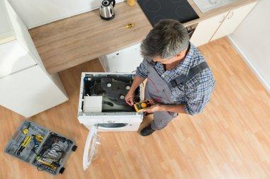 Checking Washing Machine With Digital Multimeter
