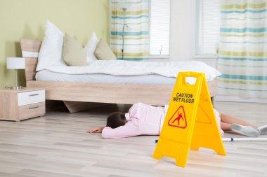 Female Housekeeper Unconscious
