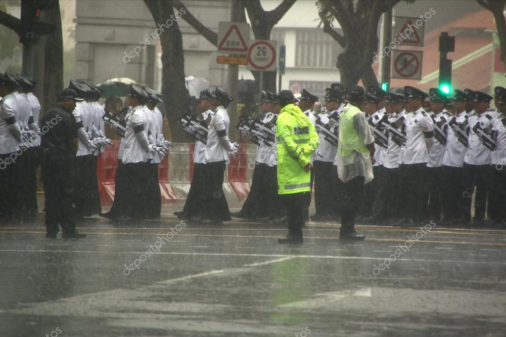 State Funeral Procession for late Mr Lee Kuan Yew in front of Parliament House