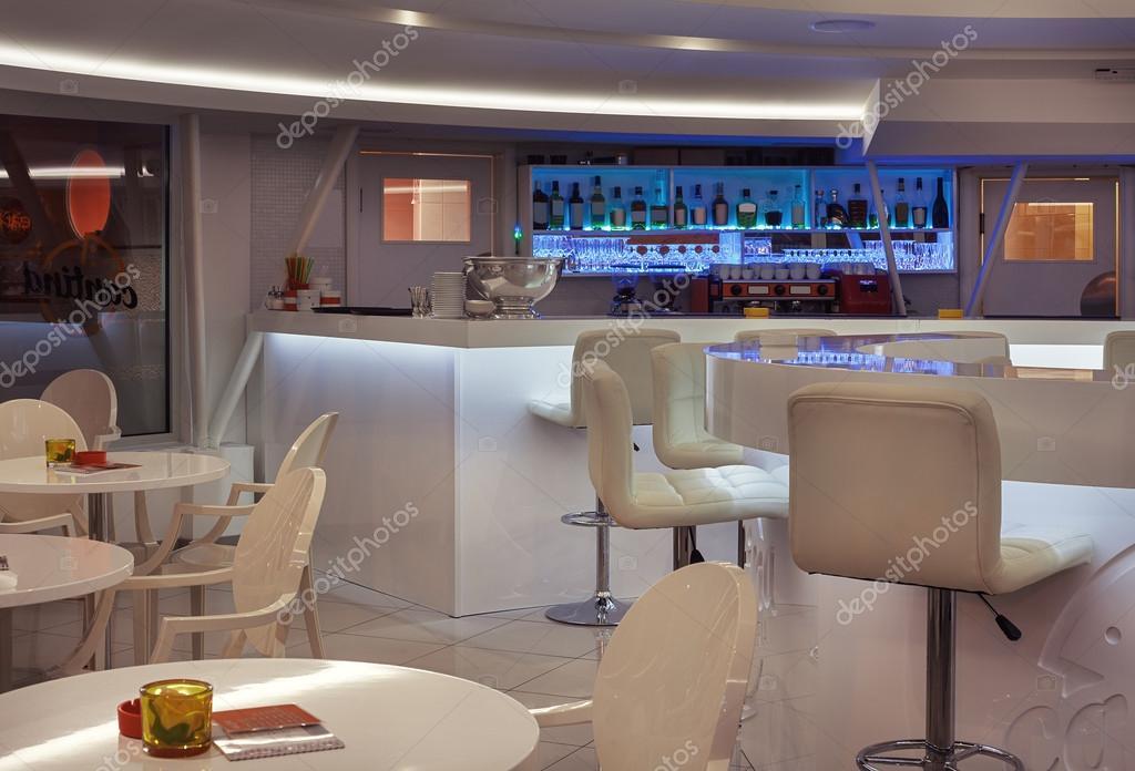 Decoration café moderne | café moderno interior — Foto de stock ...