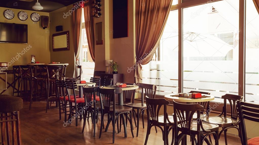 Cafe interieur Retro Design — Stockfoto © krsmanovic #86241898