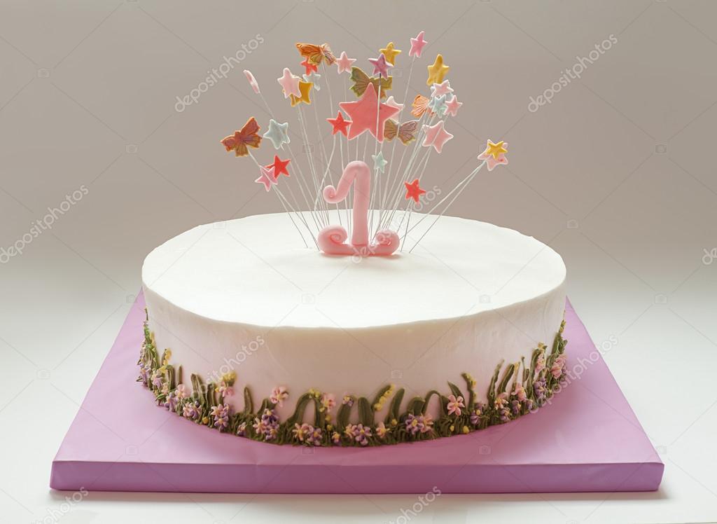 első szülinapi torta Első Szülinapi torta — Stock Fotó © krsmanovic #86971010 első szülinapi torta