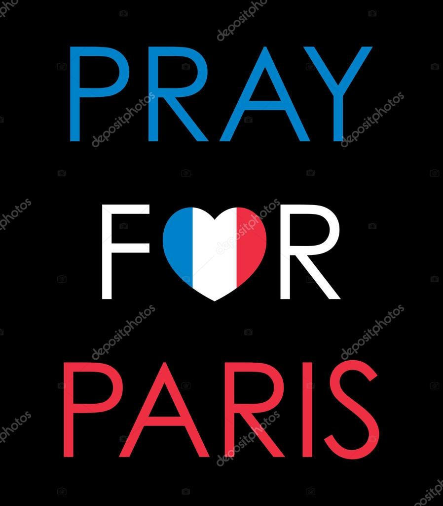 pray for paris stock vector mhatzapa 107253218