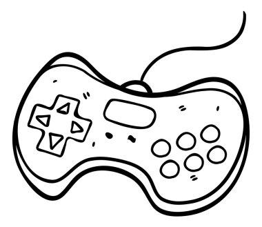 Hand drawn game pad