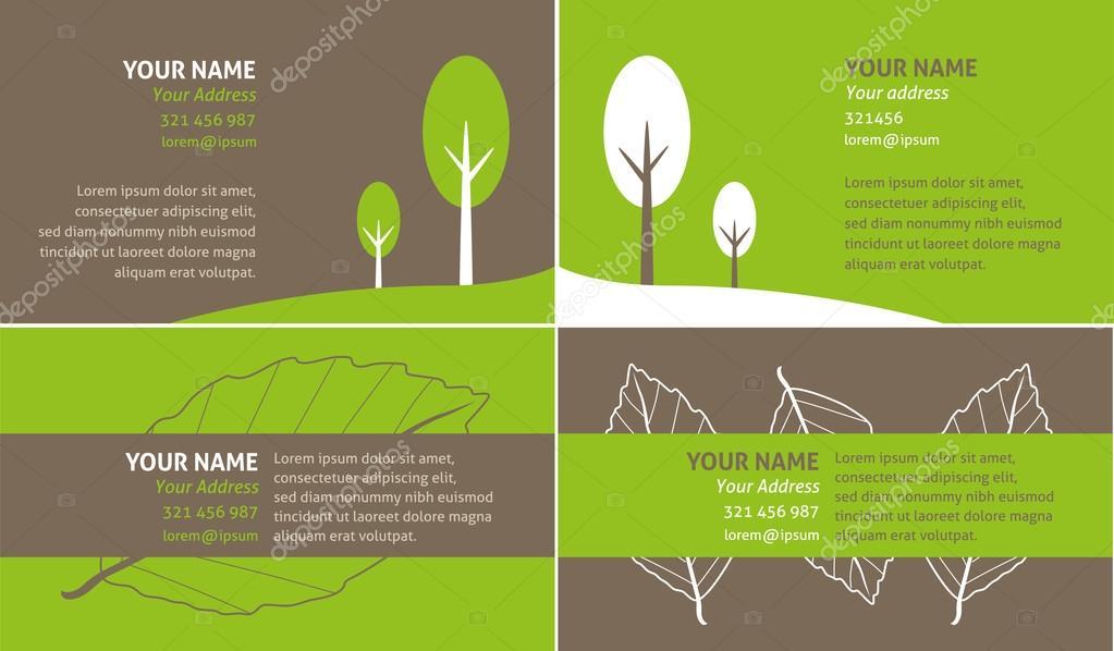 Go green business card stock vector mhatzapa 59809249 go green business card stock vector reheart Image collections