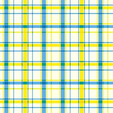 Plaid square pattern