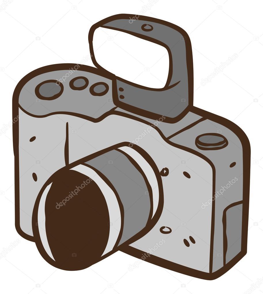 Vintage Camera Cartoon Stock Vector