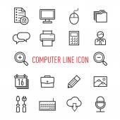 Sada ikon, počítače