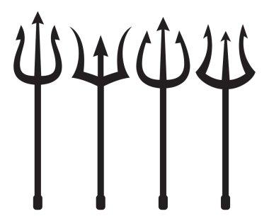 set of trident symbols