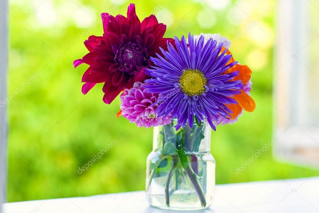 Bouquet di fiori autunnali foto stock taratata 83439072 for Immagini fiori autunnali