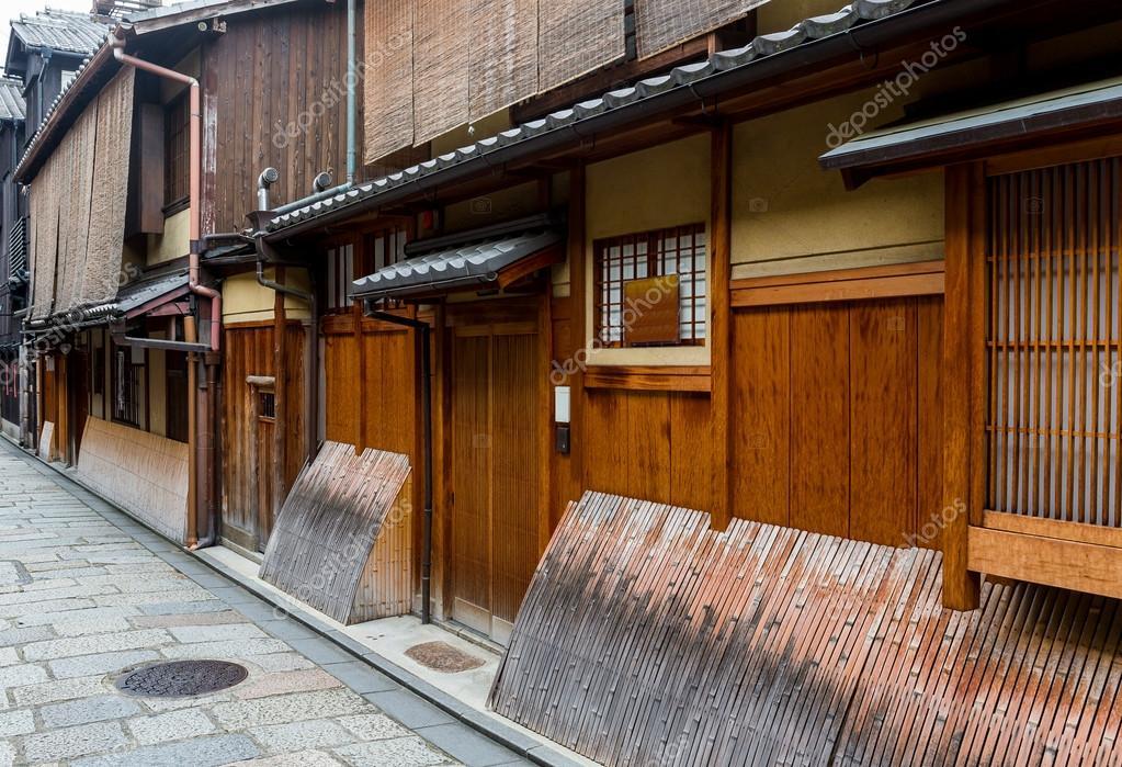 Traditionelles japanisches haus stockfoto leungchopan for Grundriss japanisches haus