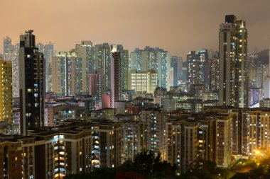 Hong Kong apartment buildings