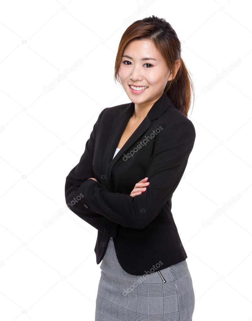 Bitch asian businesswoman of the