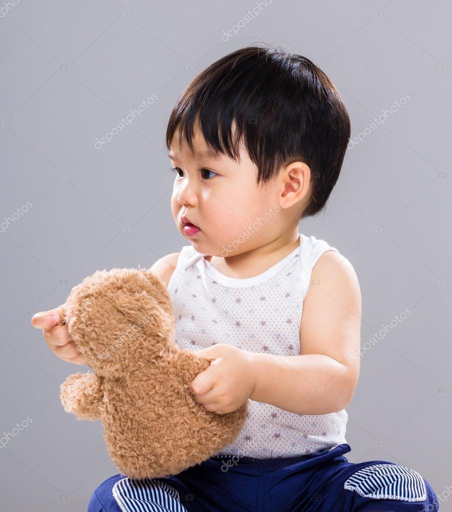 Asian Cute Little Baby Boy Stock Photo Leungchopan 72403729