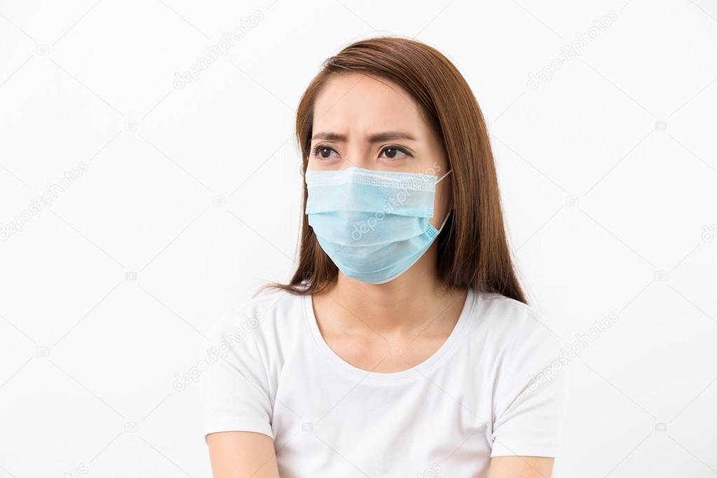 Stock Photo Wear Asian Medical Leungchopan Woman © Mask — Face