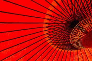 Japanese Red umbrella frame