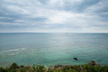 Seascape view in Okinawa