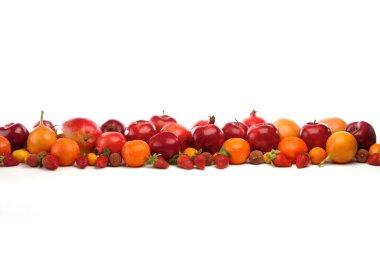 """Картина, постер, плакат, фотообои """"Свежие тропические фрукты"""", артикул 69067465"""