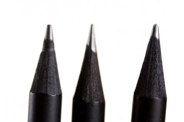 three black Pencils
