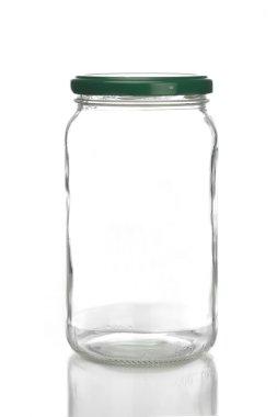 Studio shot of jar
