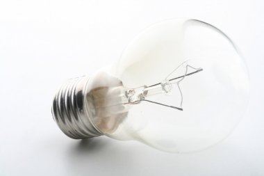 one light bulb