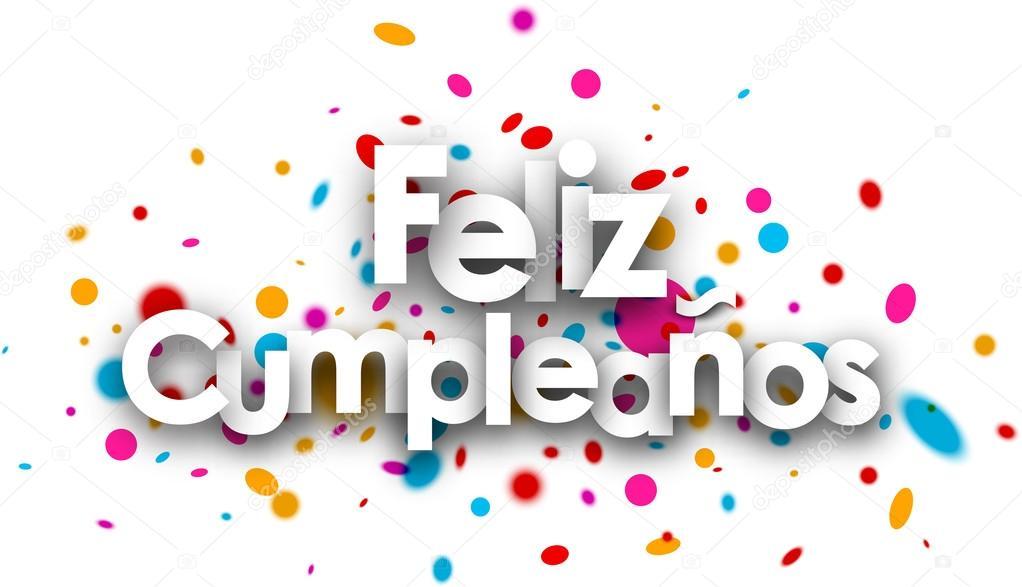 Vector Feliz Cumple Tarjeta De Feliz Cumpleaños De Papel Vector