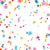 konfety oslava pozadí.