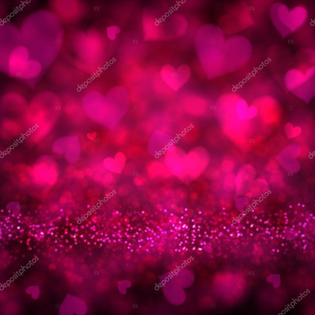 Sfondo Rosso Magenta Di San Valentino Vettoriali Stock
