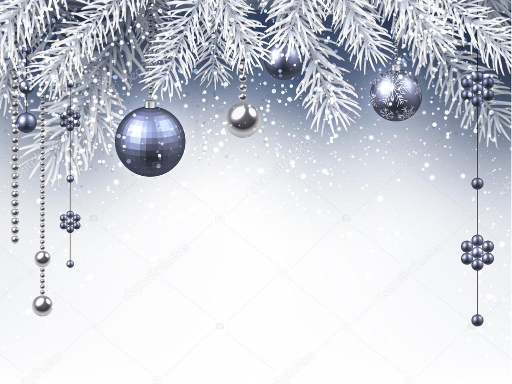 Plantilla de Navidad felicitación — Vector de stock © Maxborovkov ...