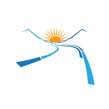 Valley Road and Sun logo