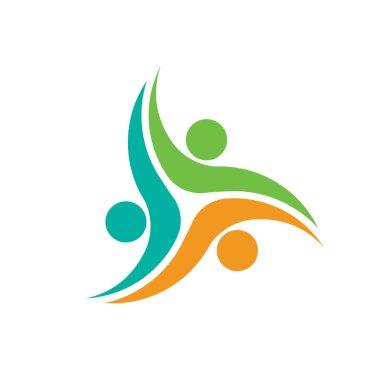 Three People social network logo