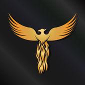 Fényképek Arany Főnix madár embléma