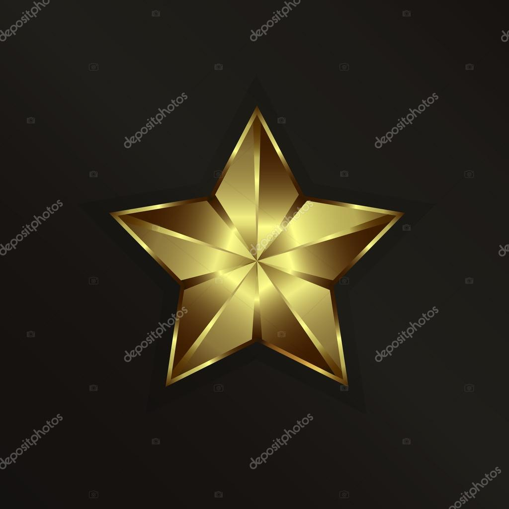 Golden Shinning Star
