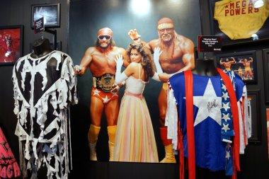 WWE Legend Macho Man and Hulk Hogan Mega Powers outfits, hats, s