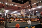NXT zápasit Bull Dempsey skočit z lana na soupeře Jason Jor