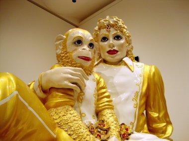 Jeff Koons - Michael Jackson and Bubbles porcelain sculptures