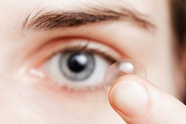 Contact lenses - a convenient way for solving problems with visi