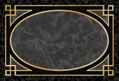 Marble Background with Frame, Border